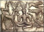 Image of Cernunnos on Gundestrap Cauldron