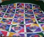 Quilt made by my grandmother