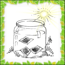 Why not make a jar of sun tea for your solstice celebration