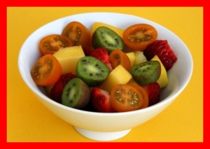 tomato fruit salad