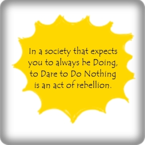 dare to do nothing