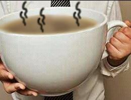 grateful for morning tea
